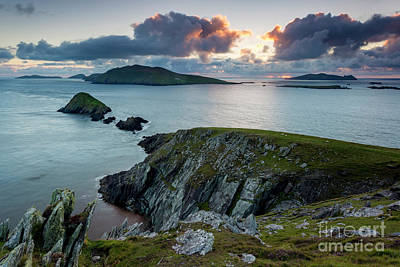 Photograph - Dingle Peninsula Sunset by Brian Jannsen