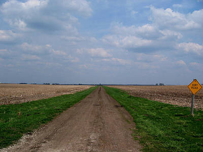 Photograph - Dirt Road by Dylan Punke