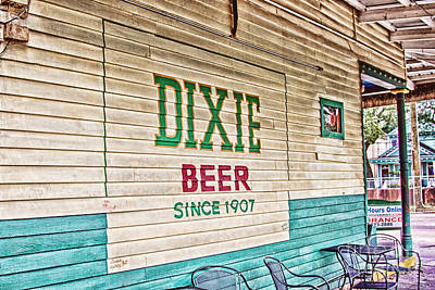 South Louisiana Photograph - Dixie Beer by Scott Pellegrin