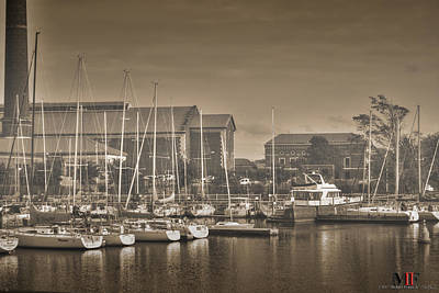 Photograph - Docked by Michael Frank Jr