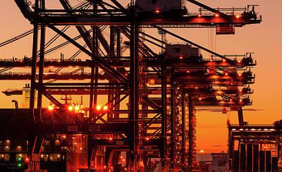 Technical Photograph - Docks by Svetlana Sewell