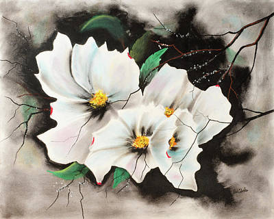 Pastel - Dogwood by Paul Cubeta