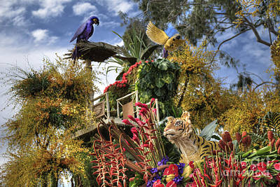 Photograph - Dole Parade Float by David Zanzinger
