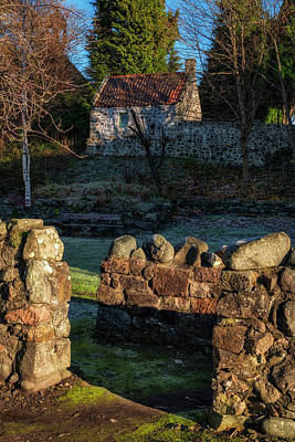 Photograph - Dollar Town In Scotland by Jeremy Lavender Photography