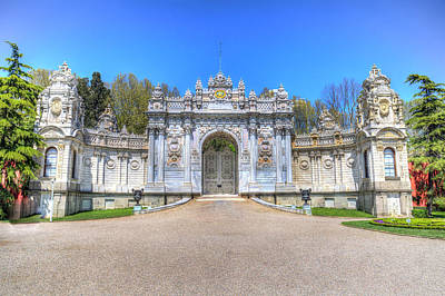Photograph - Dolmabahce Palace Istanbul by David Pyatt