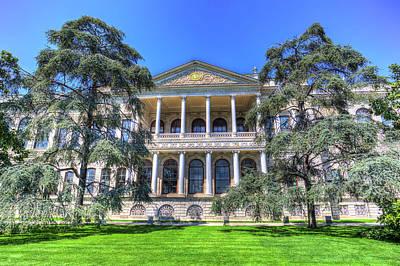 Photograph - Dolmabahce Palace Istanbul Turkey by David Pyatt
