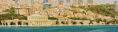Photograph - Dolmabahce Palace, View From Bosphorus In Istanbul, Turkey by Marek Poplawski