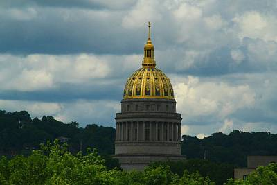 Photograph - Dome Of Gold by Kathryn Meyer
