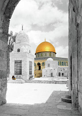 Photograph - The Dome Of The Rock by Munir Alawi