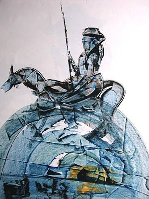 Painting - Don Quijote by Rezvan Kani
