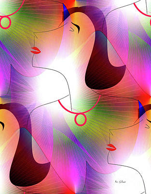Digital Art - Donna Lee by Iris Gelbart