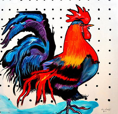 Doodle Do Rooster Art Print