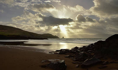 Photograph - Doonsheane Beach by Barbara Walsh