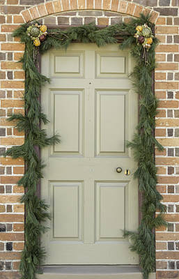 Historic Photograph - Doors Of Williamsburg 57 by Teresa Mucha