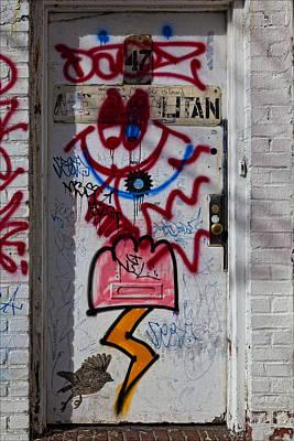 Doorway Wiiliamsburg Brooklyn Art Print by Robert Ullmann