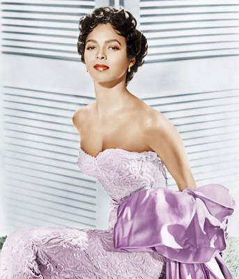 Dorothy Dandridge, Ca. 1950s Art Print by Everett
