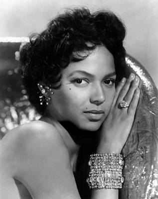 Diamond Bracelet Photograph - Dorothy Dandridge, Circa 1959 by Everett