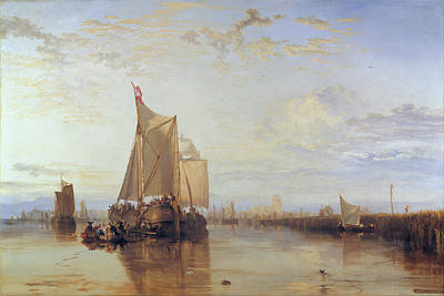 J Boat Painting - Dort, Or Dordrecht by JMW Turner
