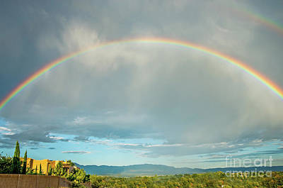 Photograph - Double Rainbow by Steve Whalen