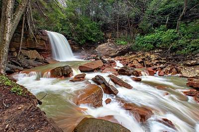 Photograph - Douglas Falls by Chris Berrier