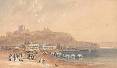 Birmingham Painting - Dover by David Cox