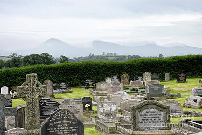 Photograph - Down Cathedral Cemetery In Downpatrick Northern Ireland by Vizual Studio