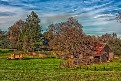 Photograph - Down On The Farm - California by Mountain Dreams