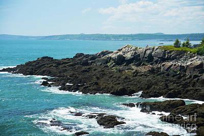 Photograph - Downeast Coast by Alana Ranney