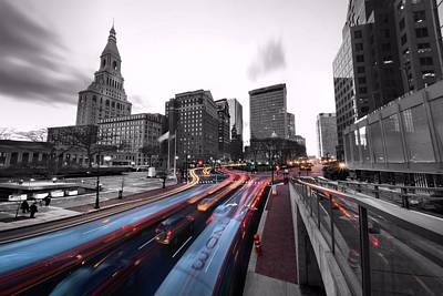 Photograph - Downtown Hartford by Andrea Galiffi