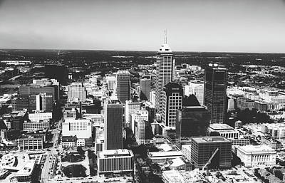Photograph - Downtown Indianapolis by Library Of Congress