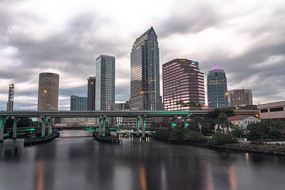 Downtown Tampa Art Print