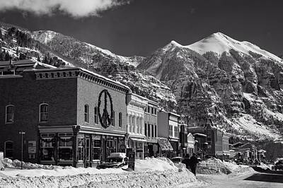 Photograph - Downtown Telluride Colorado by L O C
