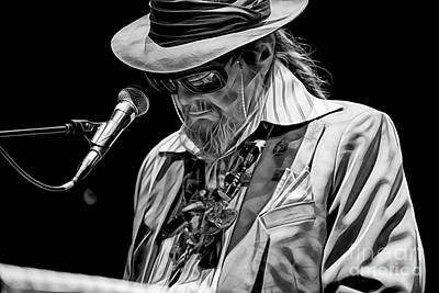 John Mixed Media - Dr. John Collection by Marvin Blaine