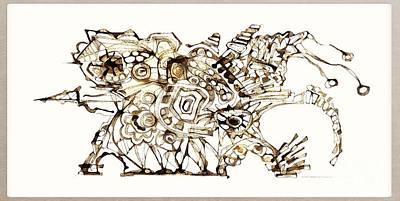 Digital Art - Dragon 3997 by Marek Lutek