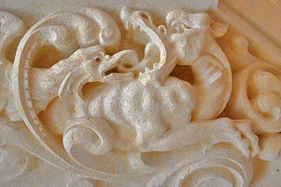 Dragon. Neuschwanstein Castle. Bavaria. Germany. Original