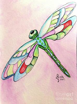 Painting - Dragonfly by Lorah Tout