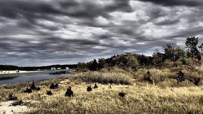 Photograph - Dramatic Landscape At Elizabeth Morton by Susan Jensen