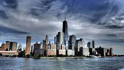 Photograph - Dramatic New York City by Susan Jensen