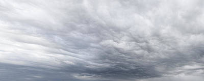 Grey Clouds Photograph - Dramatic Sky by Les Cunliffe
