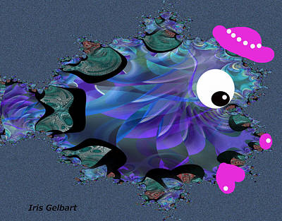 Digital Art - Dreaming by Iris Gelbart