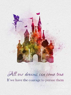 Dreams Can Come True Art Print