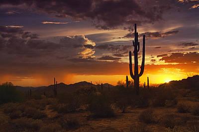 Photograph - Dreamy Desert Skies  by Saija  Lehtonen