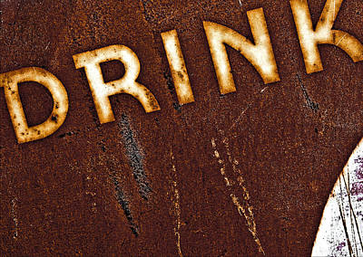 Drink Art Print by Curtis Staiger