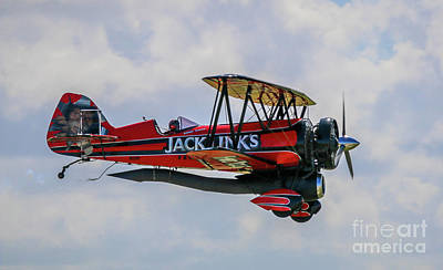 Photograph - Dual Powered Biplane by Tom Claud