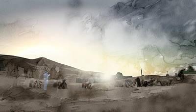 Tehran Painting - Dubai 4 by Jani Heinonen