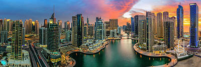 Photograph - Dubai Marina by Alexey Stiop