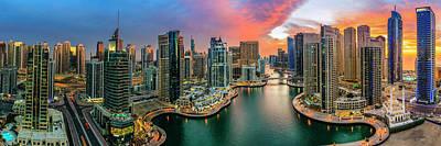 Photograph - Dubai Marina by Alexey Stiop