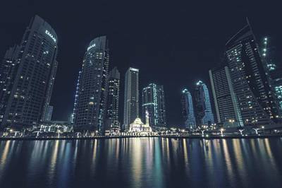 Photograph - Dubai Marina by Mike Dunn