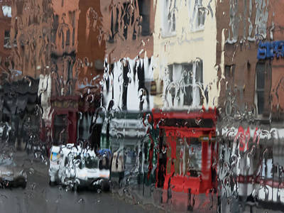 Photograph - Dublin In The Rain - 2 by Rob Huntley