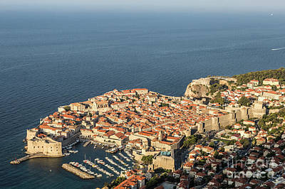 Photograph - Dubrovnik And The Adriatic Coast In Croatia by Didier Marti